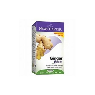 New Chapter Ginger Force 60 softgel capsules