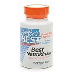 Doctor's Best Best Nattokinase, Veggie Caps 90 ea