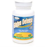 Enzymatic Therapy Gluten Defense - 120 Vegetarian Capsules