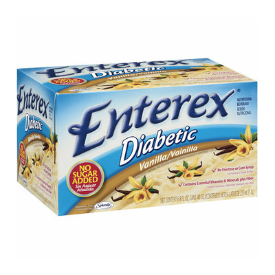 Enterex Diabetic Vanilla Nutritional Beverage