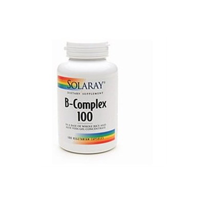 Solaray B-Complex 100mg 100 ea