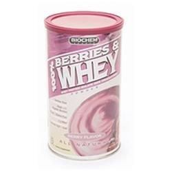 Biochem Sports 100% Berries and Whey Powder Berry - 11 oz