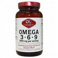 Olympian Labs Omega 3-6-9 2400mg, 120 softgels