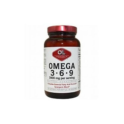 Olympian Labs Omega 3-6-9 2400mg, 120 softgels