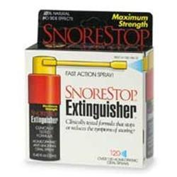 SnoreStop Extinquisher, Homeopathic Anti-Snoring Oral Spray, 120 sprays