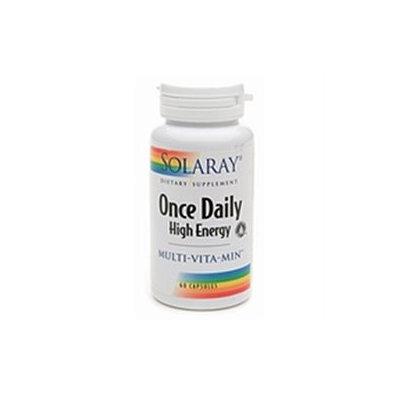 Solaray Once Daily High Energy Multi-Vita-Min - 60 Capsules