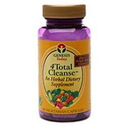 Genesis Today 4Total Cleanse, Part 1 60 vegetarian capsules