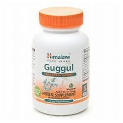 Himalaya Herbal Healthcare - Guggul Cholesterol Support - 60 Vegetarian Capsules