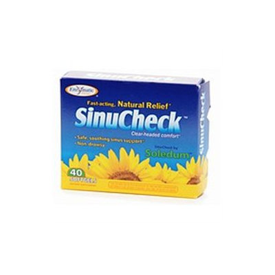 Enzymatic Therapy SinuCheck, Softgels 40 ea