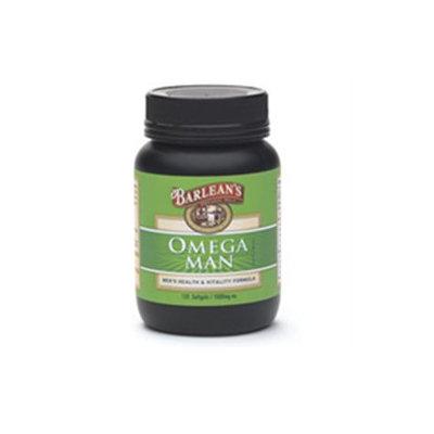 Barlean's Organic Oils Omega Man 1000mg Capsules