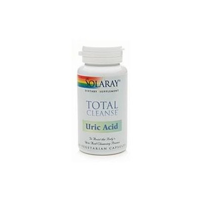 Solaray Total Cleanse Uric Acid - 60 Vegetarian Capsules