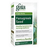 Gaia Herbs Fenugreek Seed, Liquid-Filled Capsules