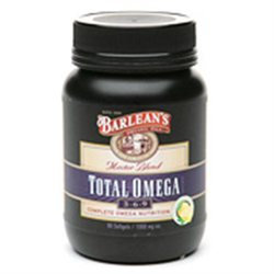 Barleans Barlean's Organic Oils Total Omega 3-6-9 Softgels