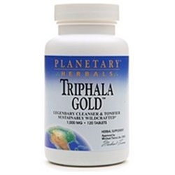 Planetary Herbals Triphala Gold 1000mg, 120 tablets