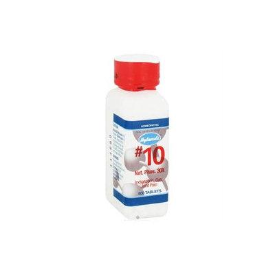 Hylands - Cell Salts 10 Natrum Phosphoricum 30 X - 500 Tablets