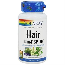 Solaray Hair Blend SP-38 - 100 Capsules