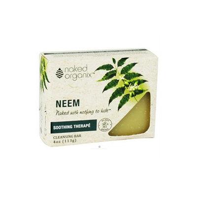 Organix South - Naked Organix Neem Cleansing Bar Fragrance Free - 4 oz.