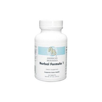 American Biologics - Herbal Formula 1 - 90 Tablets