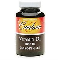 Carlson Laboratories Carlson Labs - Vitamin D3 1000 IU - 250 Softgels