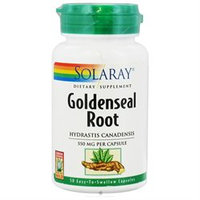 Solaray Goldenseal Root - 550 mg - 50 Capsules