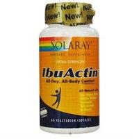 Solaray - IbuActin Extra-Strength - 60 Vegetarian Capsules
