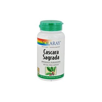 Solaray Cascara Sagrada - 450 mg - 100 Capsules