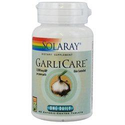 Solaray - GarliCare One Daily 12000 mcg. - 60 Tablets