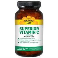 Country Life Vitamins Country Life - Superior Vitamin C 1000 mg. - 90 Tablets