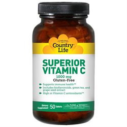 Country Life Vitamins Country Life - Superior Vitamin C 1000 mg. - 90 Tablets