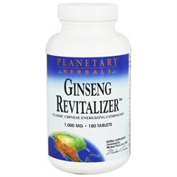 Planetary Formulations Ginseng Revitalizer - 180 Tablets - Other Herbs