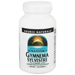 Source Naturals - Ultra Potency Gymnema Sylvestre 550 mg. - 120 Tablets