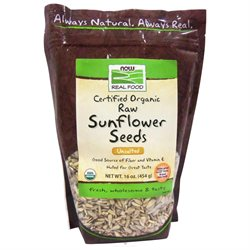 NOW Foods - Sunflower Seeds Organic - 16 oz.
