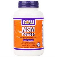 NOW Foods - MSM Pure Powder - 8 oz.