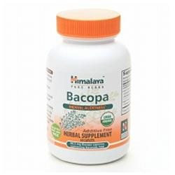 Himalaya Herbal Healthcare Bacopa, Mental Alertness, 60 caplets