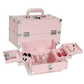 Seya Pink Train Case
