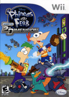 Disney Phineas & Ferb  Across the 2nd Dimension