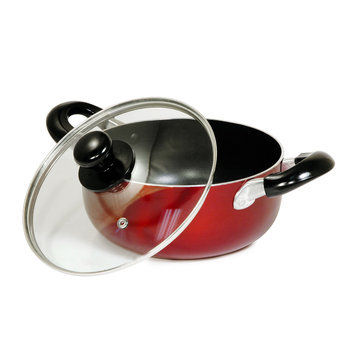 Better Chef - 5-quart Dutch Oven - Red/silver