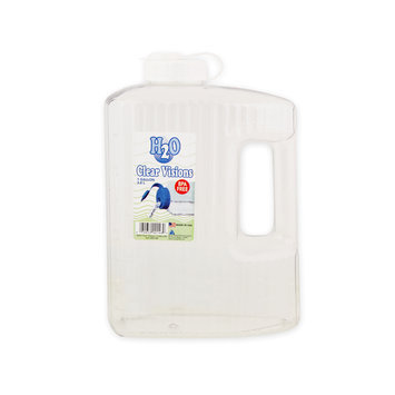 Arrow Plastic Mfg. Co. Arrow Clear Visions Refillable Water Bottle 1 Gallon - Clear