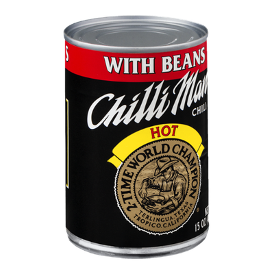 Chilli Man Chili with Beans Hot
