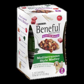 Purina Beneful Dog Food Mediterranean Style Medley - 3 CT