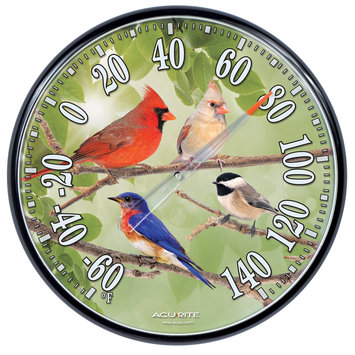 Chaney Instruments Chaney Instrument Songbirds Thermometer 12.5 Inch - 01781