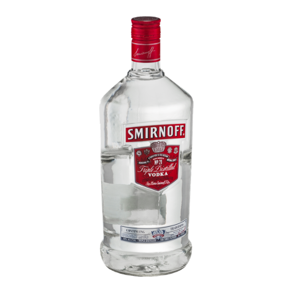 Handle of vodka