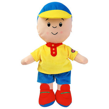 Richmond Specialty Mushroom Farm Ltd. ID02627 15 Inch Plush Doll, Yellow