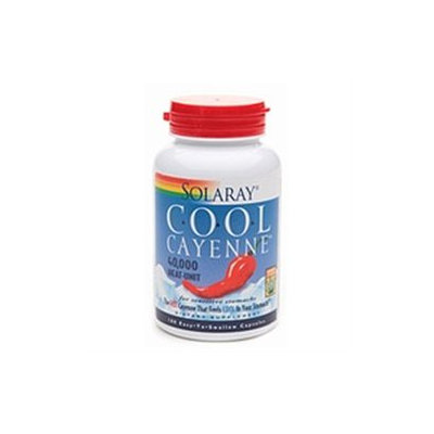 Solaray Cool Cayenne 600 mg, 180 ea