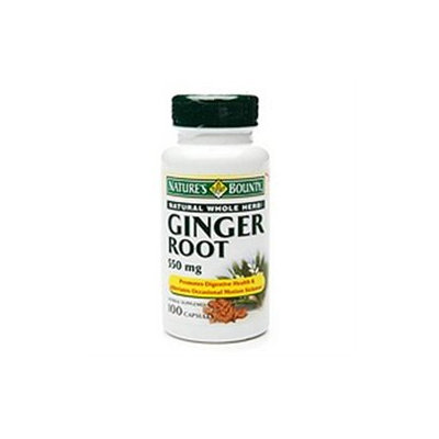 Nature's Bounty Ginger Root, 550mg, Capsules, 100 ea
