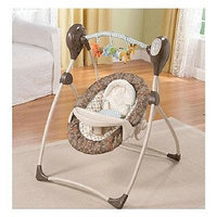 Summer Infant Carter's Animal Parade Cozy Comfort Musical Swing