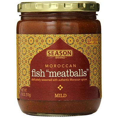 Season Moroccan Fish Bites, Mild, 18-ounces (Pack of 6)