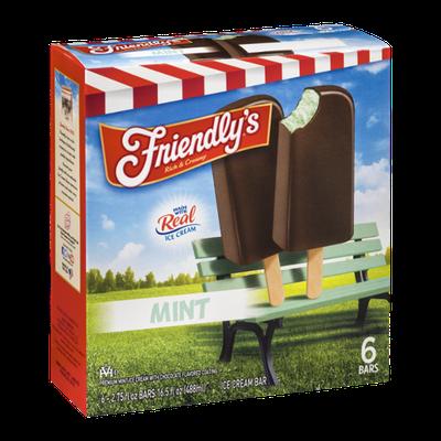 Friendly's Ice Cream Bar Mint - 6 CT