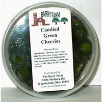 Barry Farm Candied Green Cherries, Whole, 8 oz.