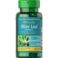 Puritan's Pride Olive Leaf Standardized Extract 150 mg-60 Capsules